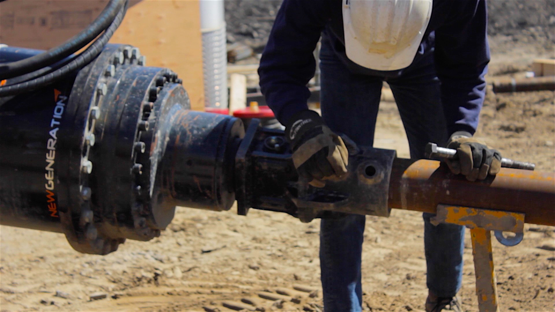IDEAL® Square Shaft and Round Shaft Helical Piles – Danbro Distributors