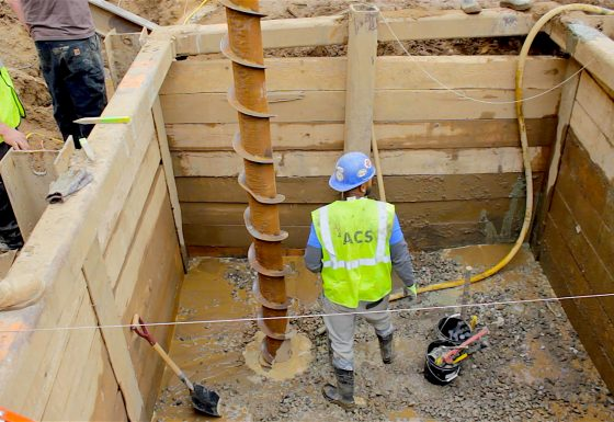 STELCOR Drilled-In Displacement Micropiles