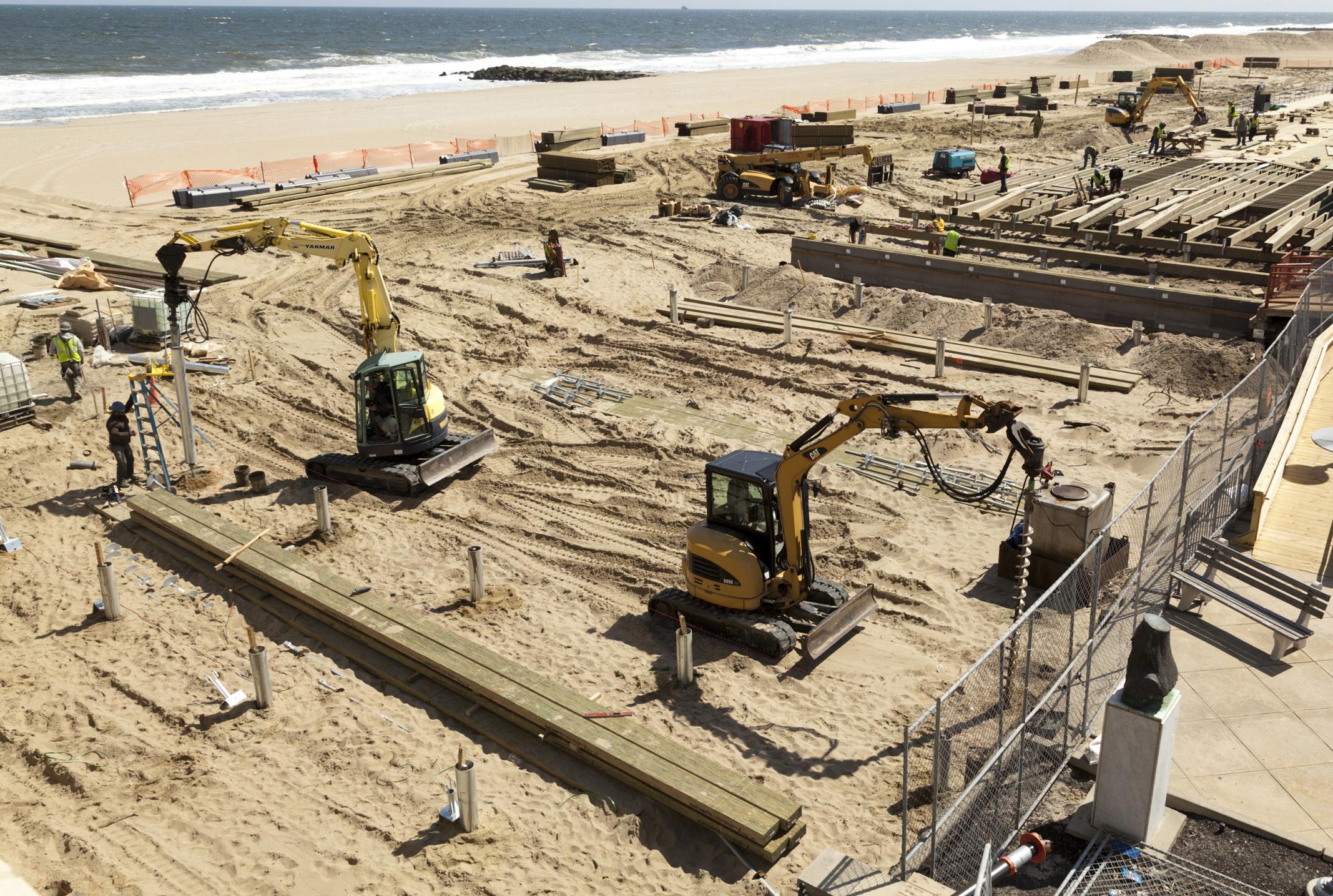 Asbury Park Boardwalk Reconstruction 018