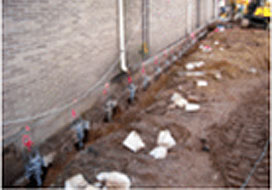 Lodi Two Story Apartment Building Foundation Repair