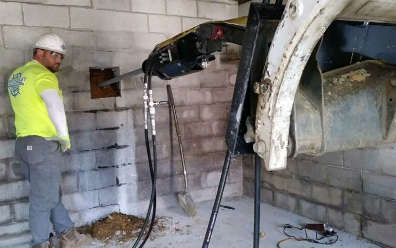 Garage Wall Repair Tiebacks