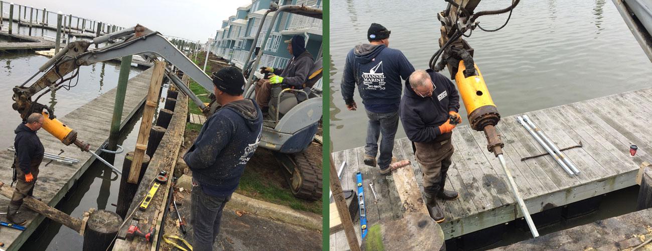 Nor'Easter Marina Bulkhead Repair