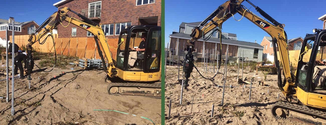 135 Beach 143rd St New Construction Piles